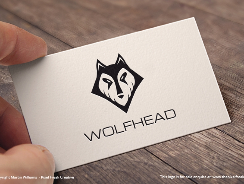 Wolf Head Logo *For Sale*