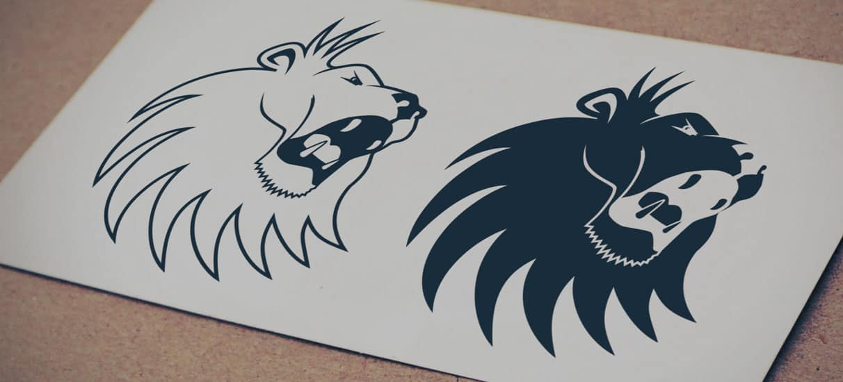 lion head logo � logo design graphic designer web