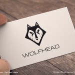 Wolf Head Logo For Sale