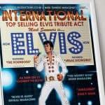 Elvis Tribute Poster Design