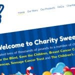 Charity Sweets Website Design Walsall