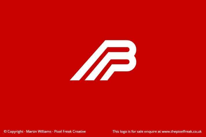 B Logo Motif