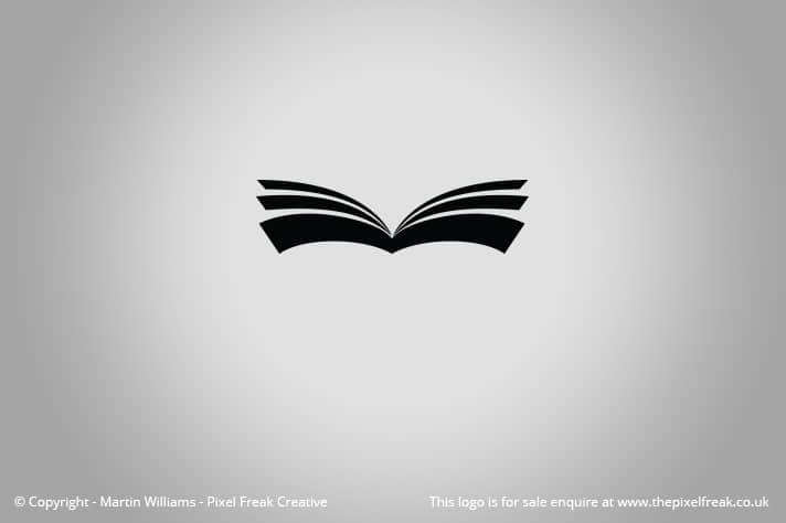 Book Logo Motif