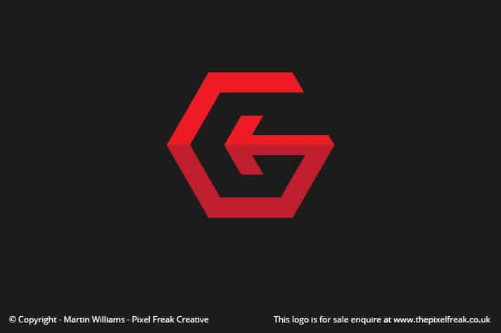 G Hexagon Logo Design