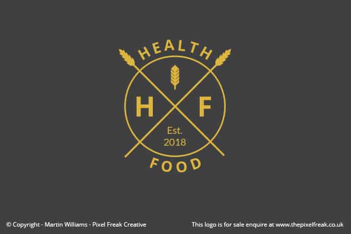 Health Food Brand Logo Design
