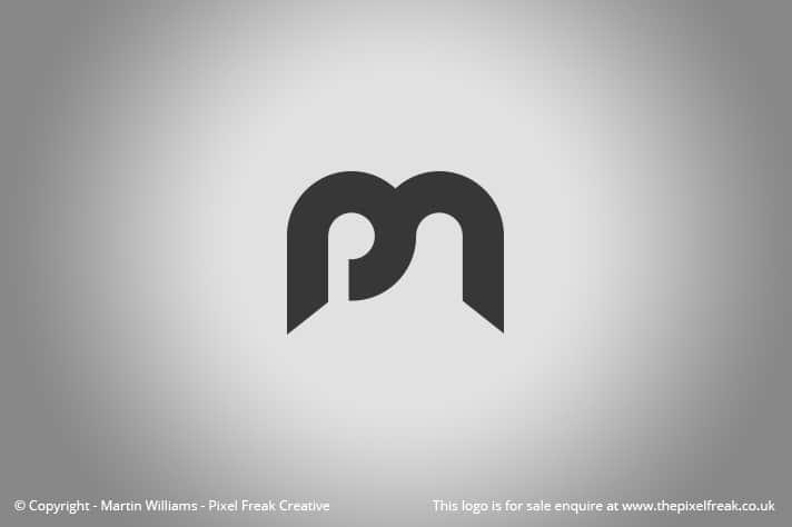 PM Logo Letterform Motif