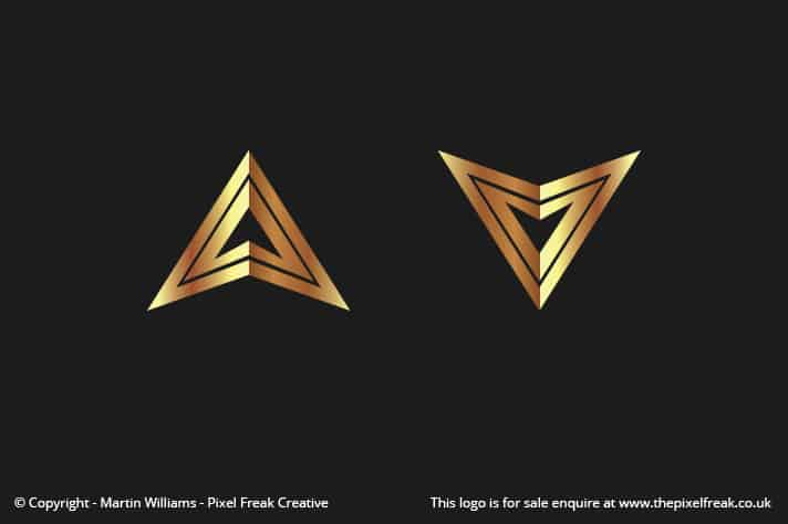 Triangles Logo Design