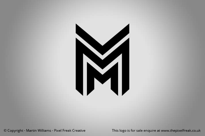 Double M Segmented Logo