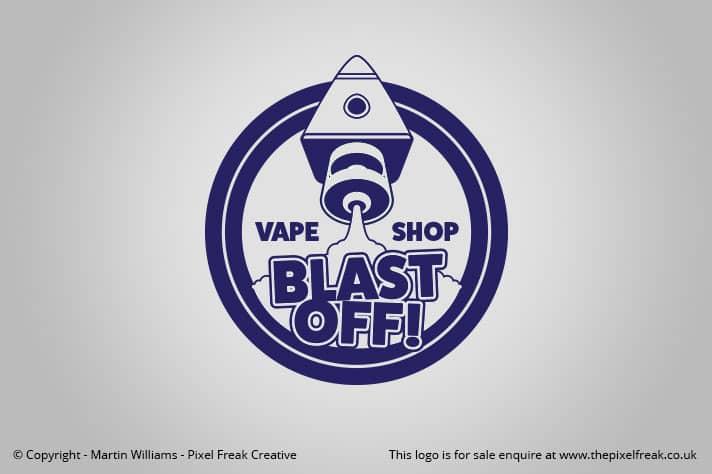 Rocket Launch Vape Brand Logo *For Sale* – Logo Design | Graphic