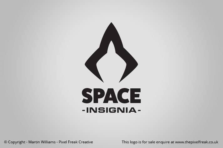 Space Insignia Logo *For Sale* – Logo Design | Graphic