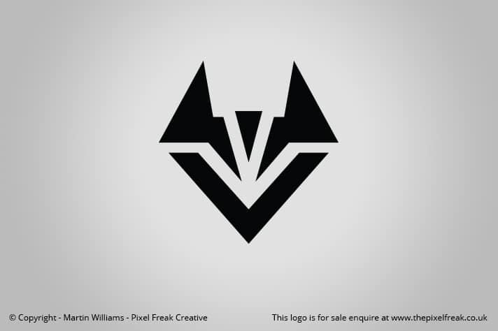 fox head logo for sale logo design graphic designer web development pixel freak creative fox head logo for sale logo design