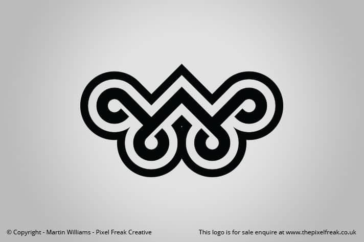Ornate W Logo