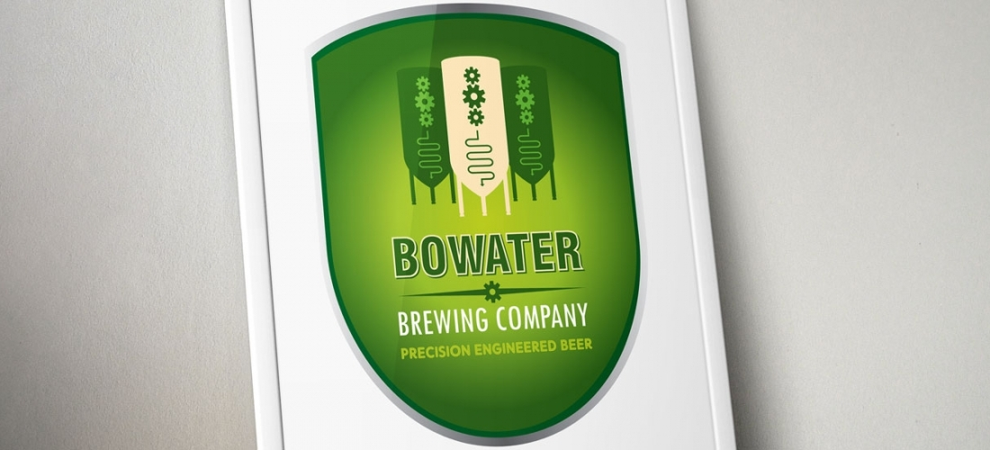 Bowater Brewing Company – Logo Design for Breweries